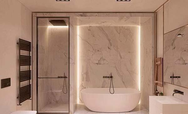 卫生间光源装饰作用示例3
