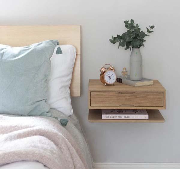 壁挂式床头柜效果图3