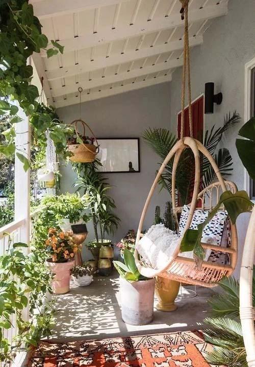 阳台改造小花园效果图4
