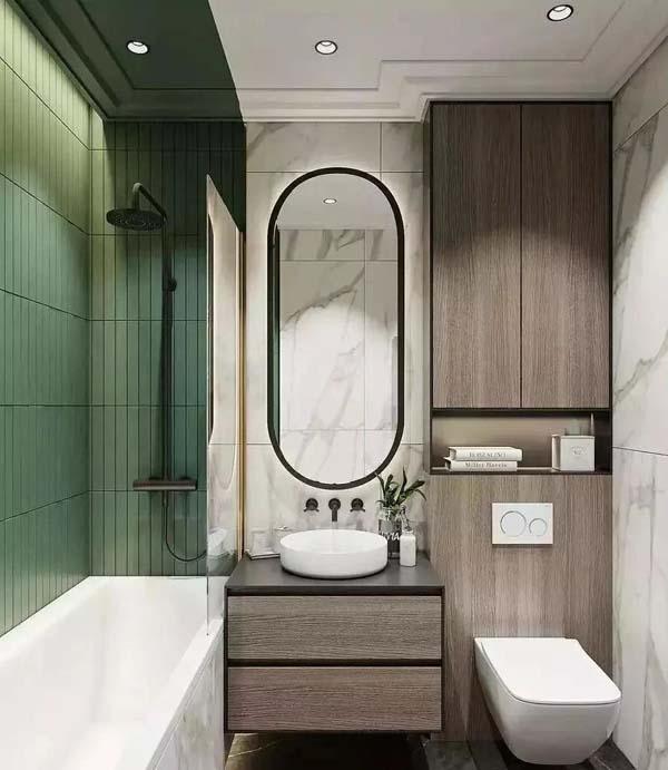 壁挂式卫浴设计效果图3