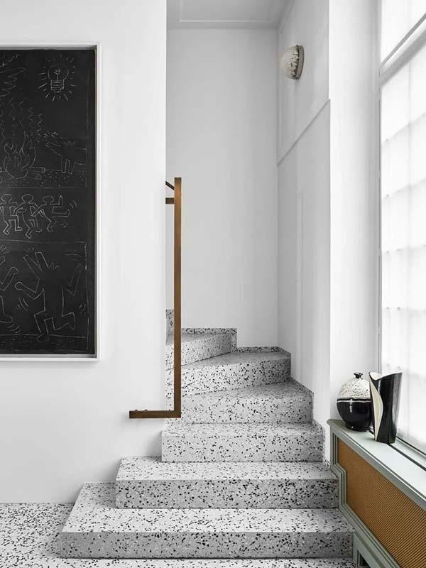 水磨石台阶装修效果图