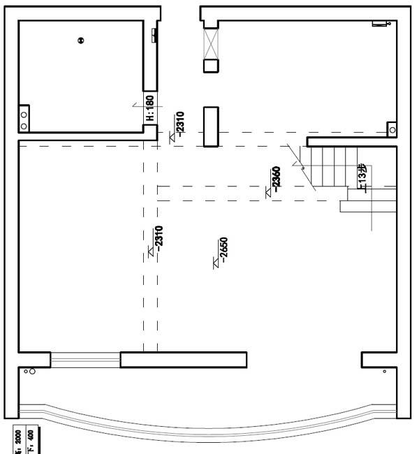 房屋原始户型图4